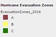 bostonHurricaneEvacuationZoneKey