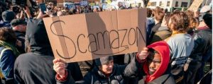 Scamazon Amazon Europe Goes On Strike Over Poor Work Conditions