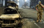 NATION – Mismanaged Power Lines Cause Fire Disaster. 71+ Dead, 1000+ Missing as California Inferno Wildfires Burn Homes, Late Evacuee's in Autos. 8,000 Structures Gone