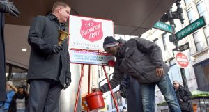 Celebrity Bell Ringers aid Salvation Army Holiday Collections