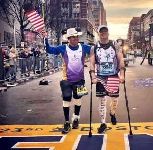 Carlos Arredondo and Tom Smith Finish the Boston Marathon 2019 Together