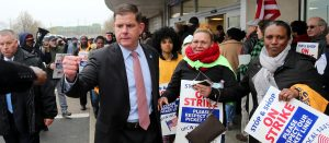 STOP & SHOP UNION STRIKES CORPORATE GREED ! Mayor Attends Rally, Worker Respect at Stake