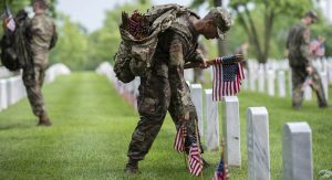 Old Guard – Flags In for Memorial Day