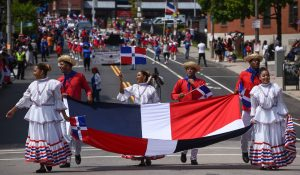 Boston Celebrates during Dominican Parade