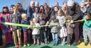 SMITH PLAYGROUND IN ALLSTON REOPENED