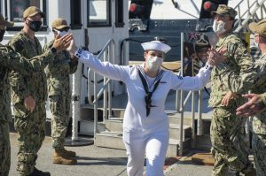 America's Ship of State – Wear a Mask to Reduce the Spread of COVID-19 Disease